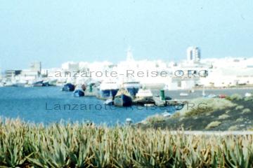Lanzarote Hafen der Hauptstadt Arrecife