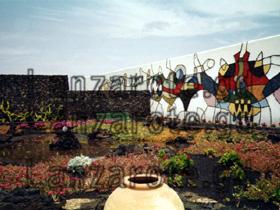 Garten von Cesar Manrique, am Jameos del Agua auf Lanzarote.