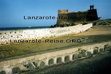 Castillo de San Gabriel in Arrecife der Hauptstadt von Lanzarote (Museum)