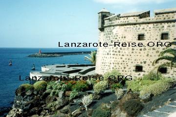 Castillo de San Gabriel, Blick auf das Meer