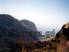 La Gomera, Aussicht über das Valle beim Mirador de Cesar Manrique.