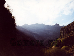 La Gomera, Schlucht nahe Hermigua.