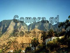 La Gomera und unsere gebuchte Ferienwohnung in El Guro.