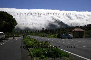 La Palma, das Bild zeigt warum die Kanarische Insel so grün ist.