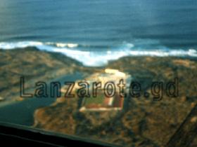 Luftbild Sporthotel La Santa beim Lanzarote Rundflug.