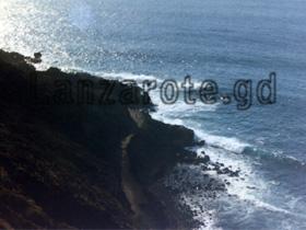 Steilküste in Nord Lanzarote.