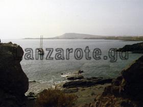 Segelschiff, Lanzarote Bucht.