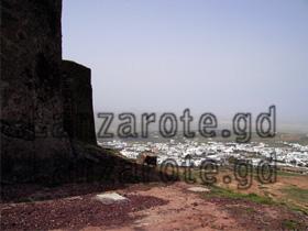 Teguise, die alte Hauptstadt der Kanarischen Insel Lanzarote, nicht zu verwechseln mit dem Ferienort an der Küste - Costa Teguise.