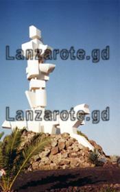 Monumento el Campesino Inselmittelpunkt Kanarische Insel Lanzarote.
