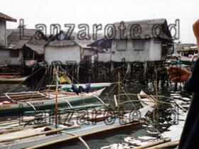 Pfahlbauten auf Palawan