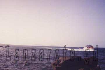 Playa Blanca Personenfähre auf voller Fahrt