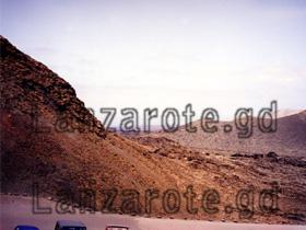Aussicht vom Parkplatz am El Diabolo.